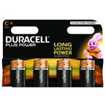 Duracell Plus Power C Size 4 Pack